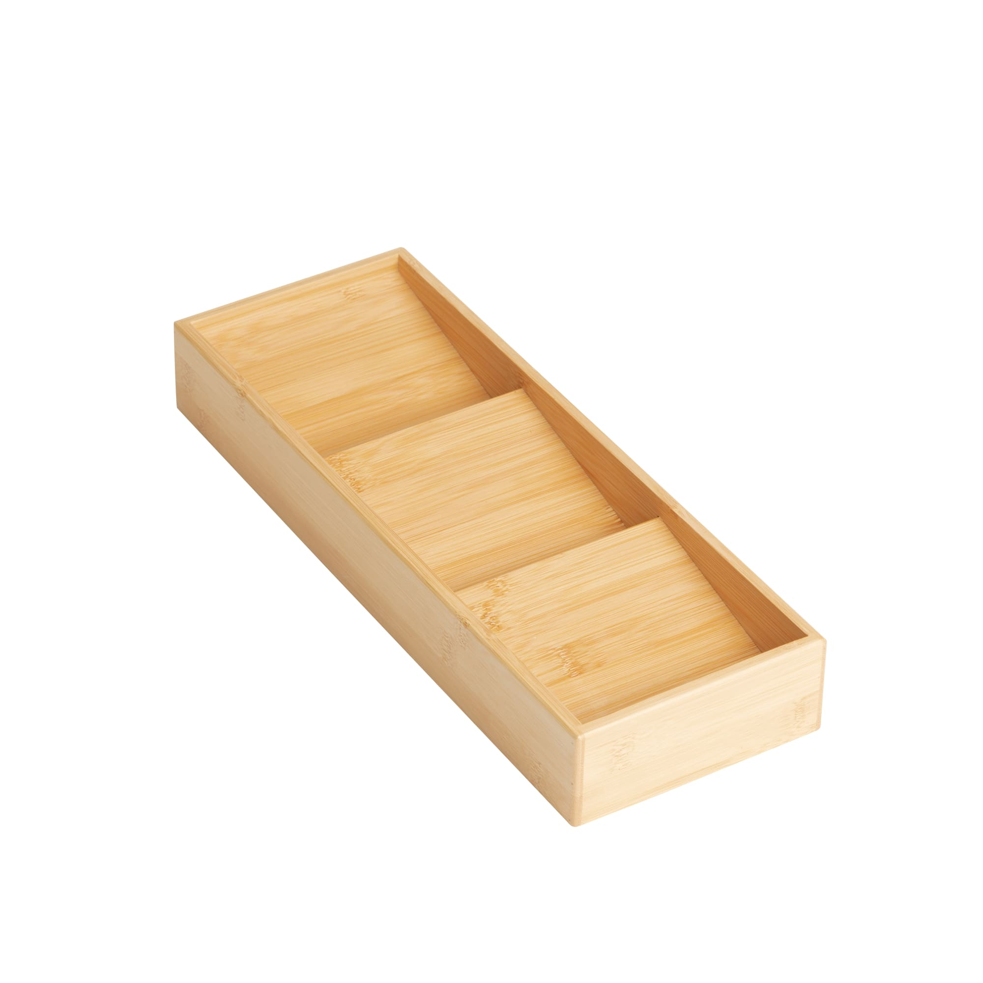 Kitchen Pro Eco Spice Drawer Organiser 39x14x5.5cm Natural