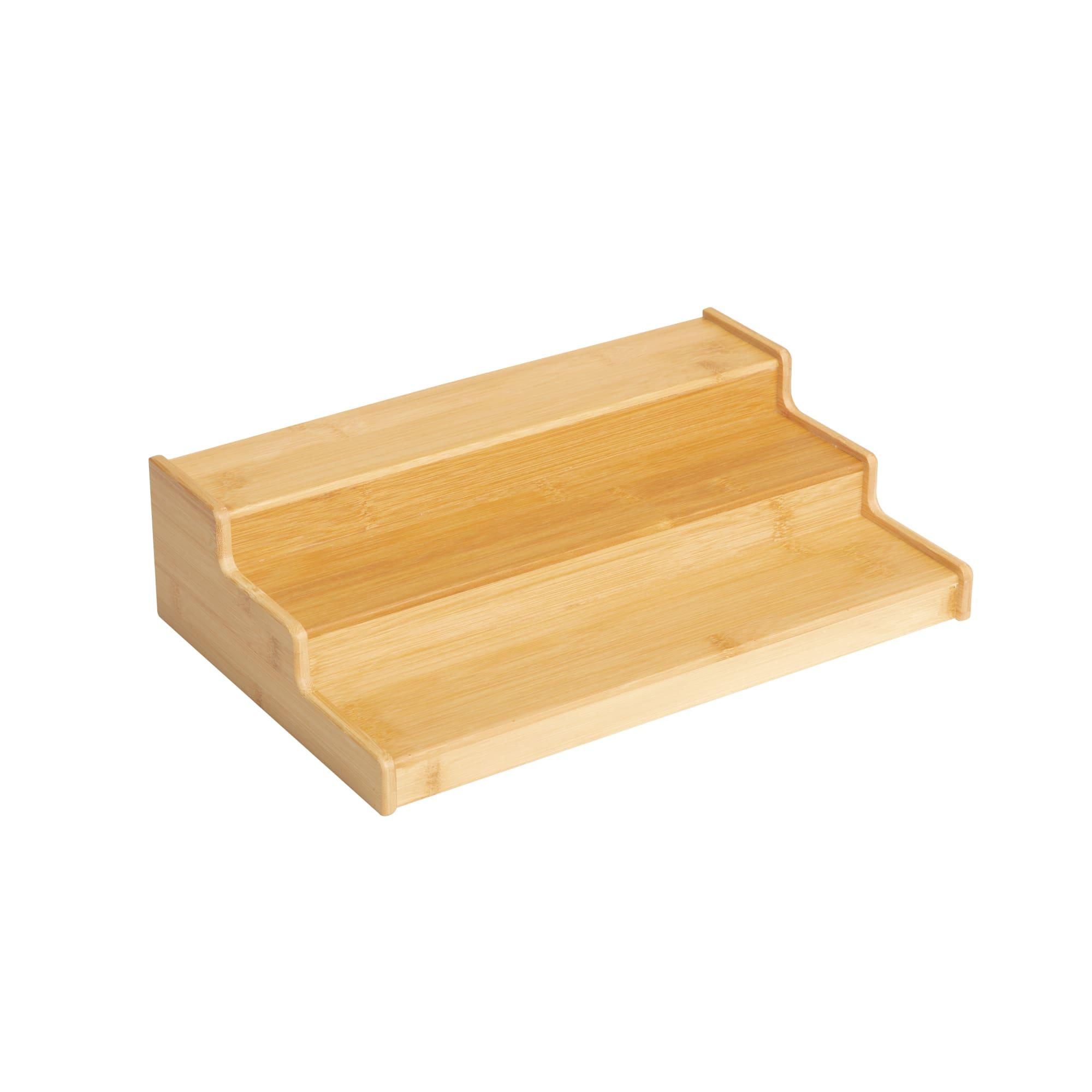 Kitchen Pro Eco Shelf Organiser 38x25x10cm Natural