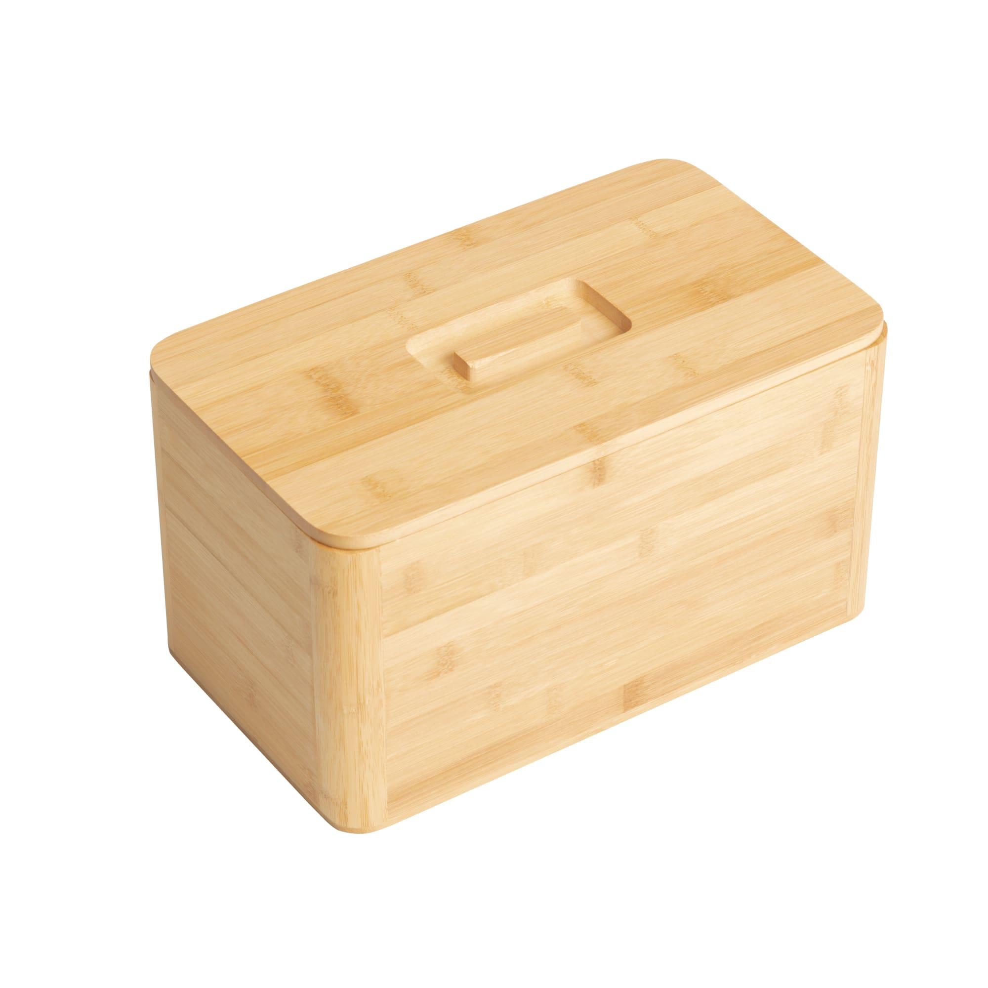 Kitchen Pro Eco Bread Box 30x20x13cm Natural
