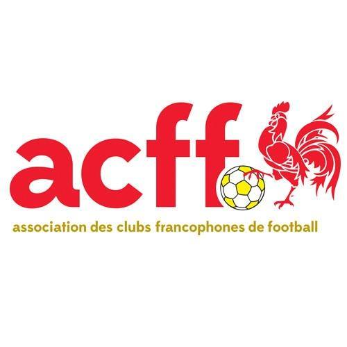 Association des Clubs Francophones de Football (ACFF) logo