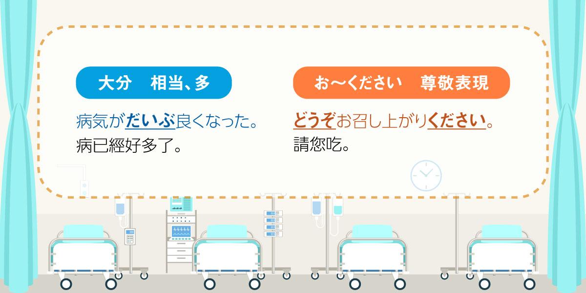 科見Online線上日文課程-尊敬表現的相關會話、例句