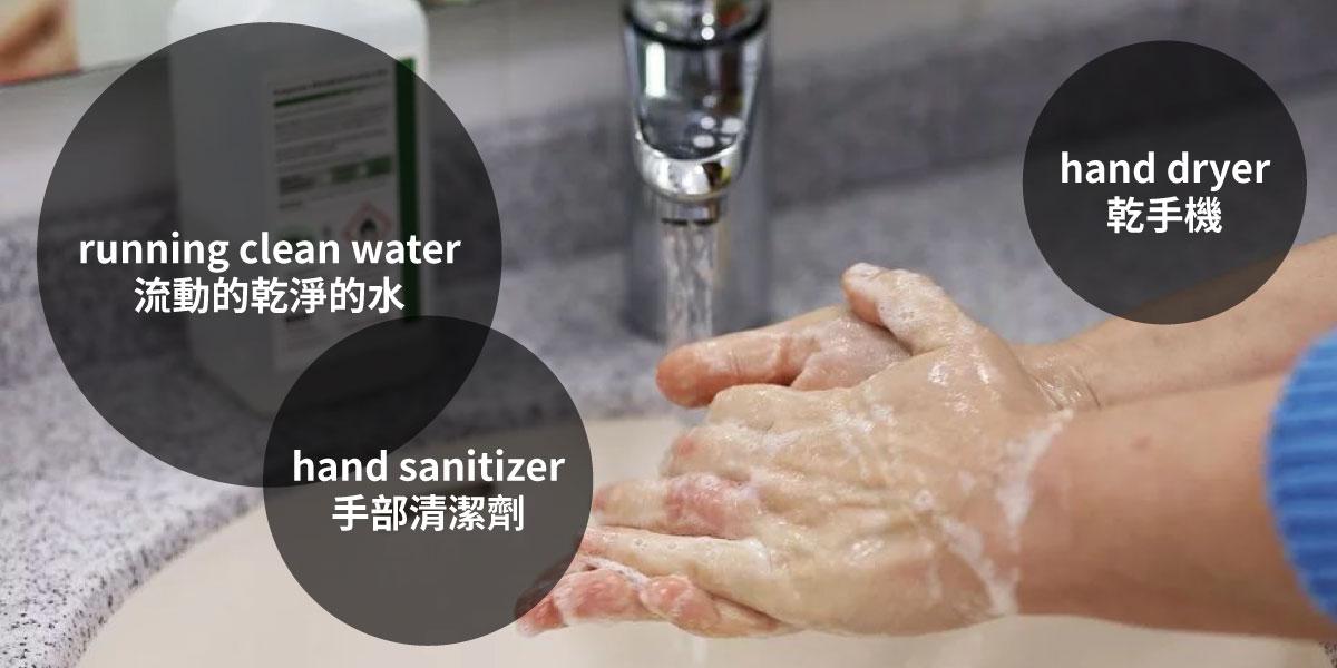 科見Online線上英文課程-親子英語-勤洗手與正確洗手