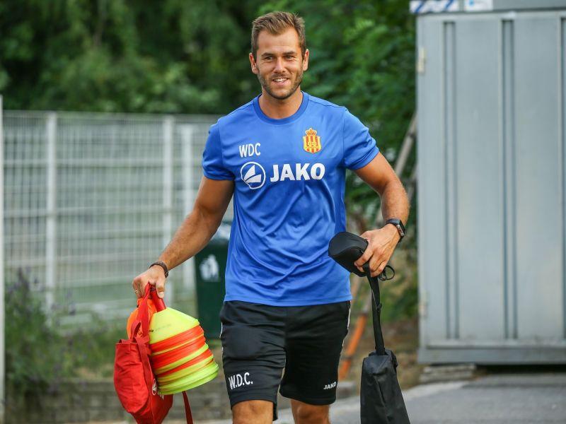 Wegen tussen Wes De Ceuster en KKFC scheiden.