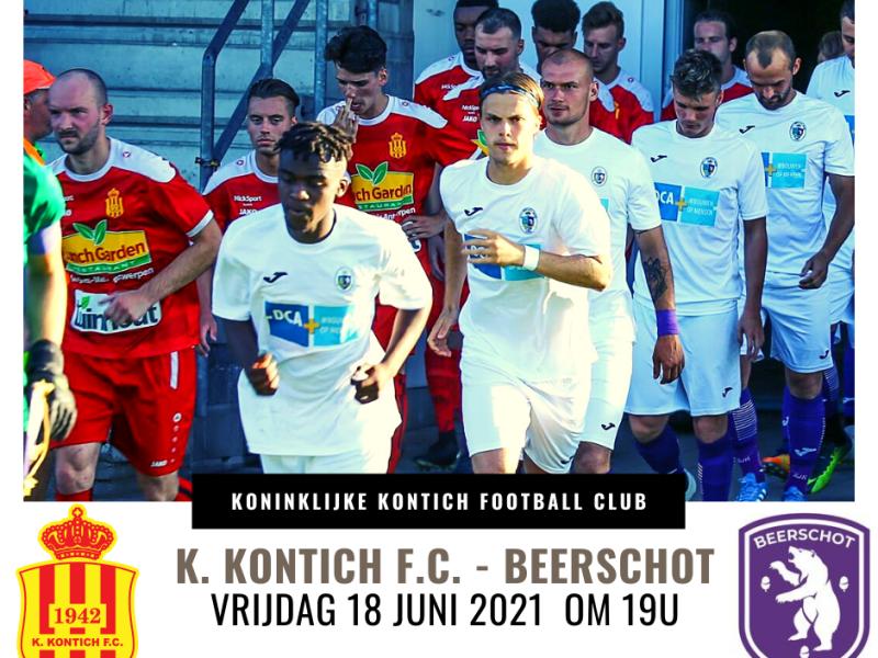 Tickets K. Kontich F.C. - Beerschot