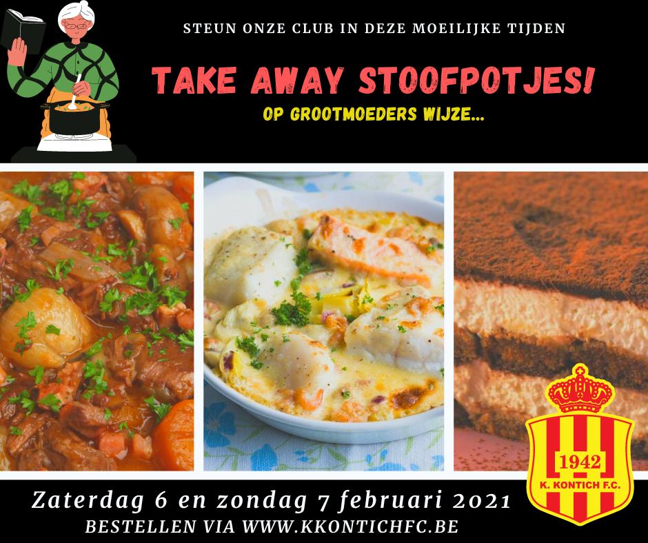 Take Away Stoofpotjes Weekend!