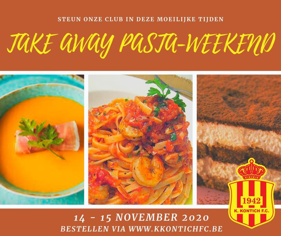 Take Away Pasta Weekend!