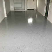 flake flooring application results