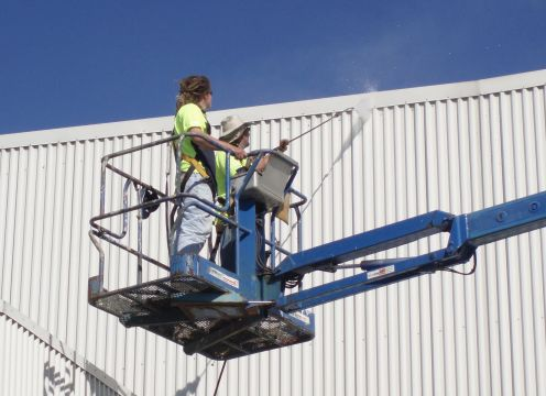 Commercial Building washing services