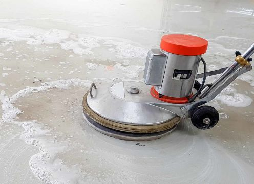 Stripping Floor Sealing Process