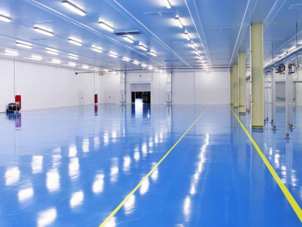 Blue Floor Coating