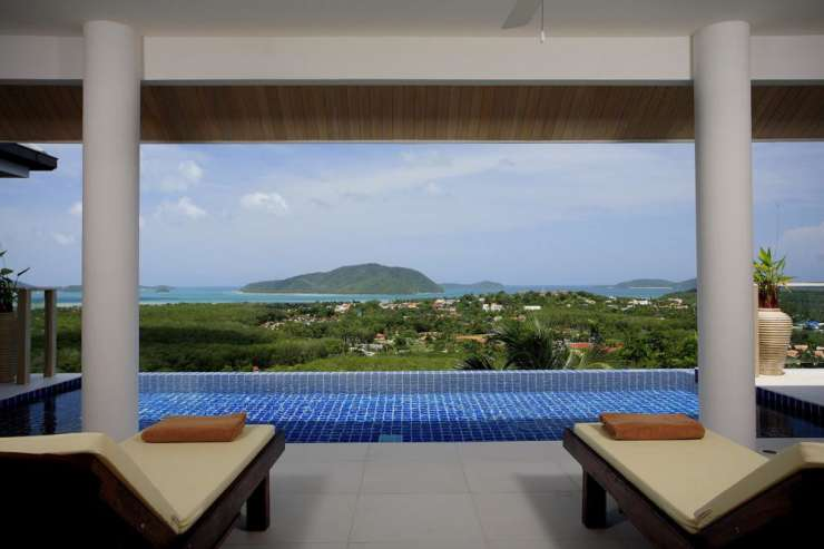 Andaman View (V02) - Infinity edge swimming pool, sundeck, and fabulous 180 degree sea views