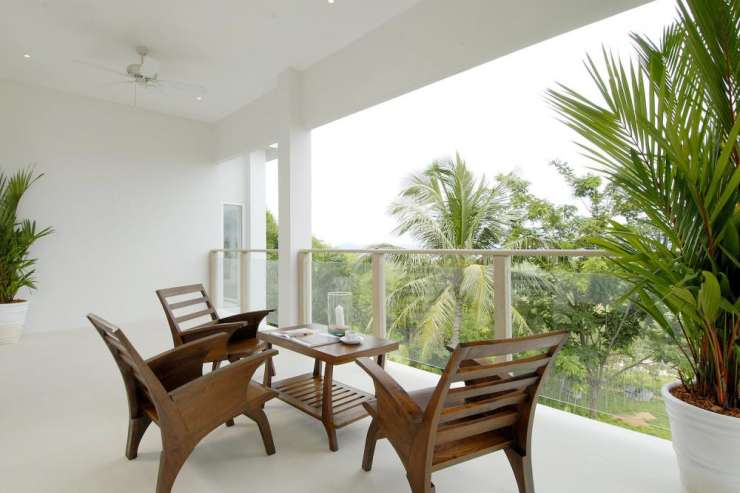 Andaman View (V02) - Many of the bedrooms have private balconies