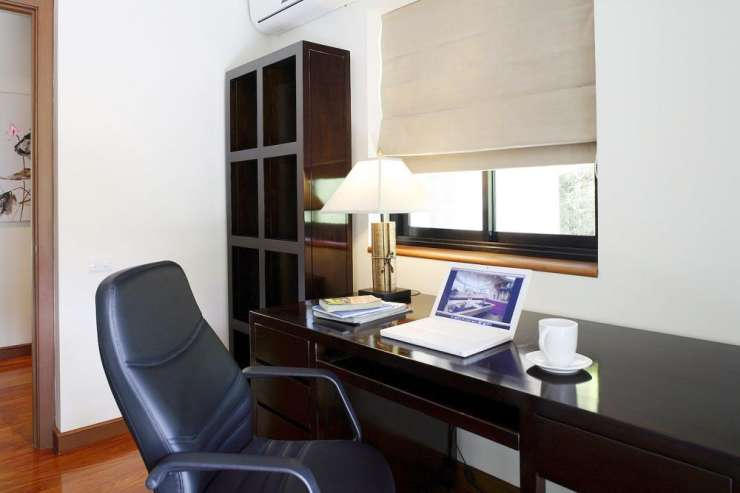 Villa Maria (V18) - Office with landline telephone and WIFI that continues throughout the villa