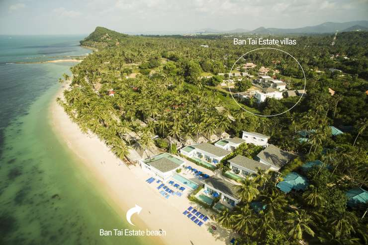 Villa Chok - Ban Tai Beach - only 300 meters from the villa