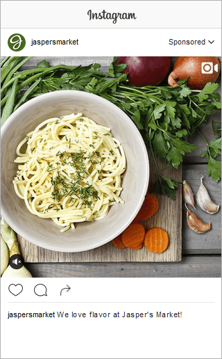 Jasper Market Instagram Brand Awareness Video Square
