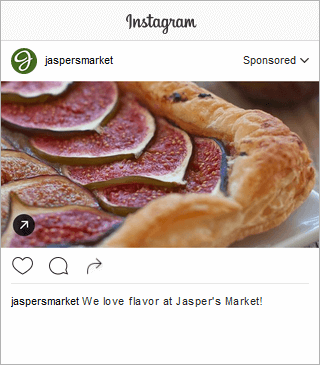 Jasper Market Instagram Post Engagement Landscape Images