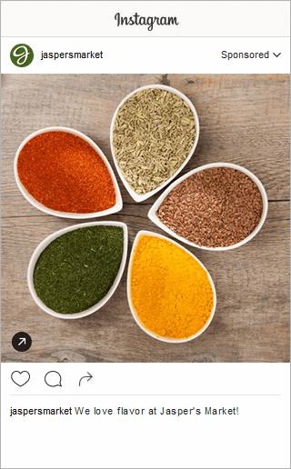 Jasper Market Instagram Post Engagement Square Image