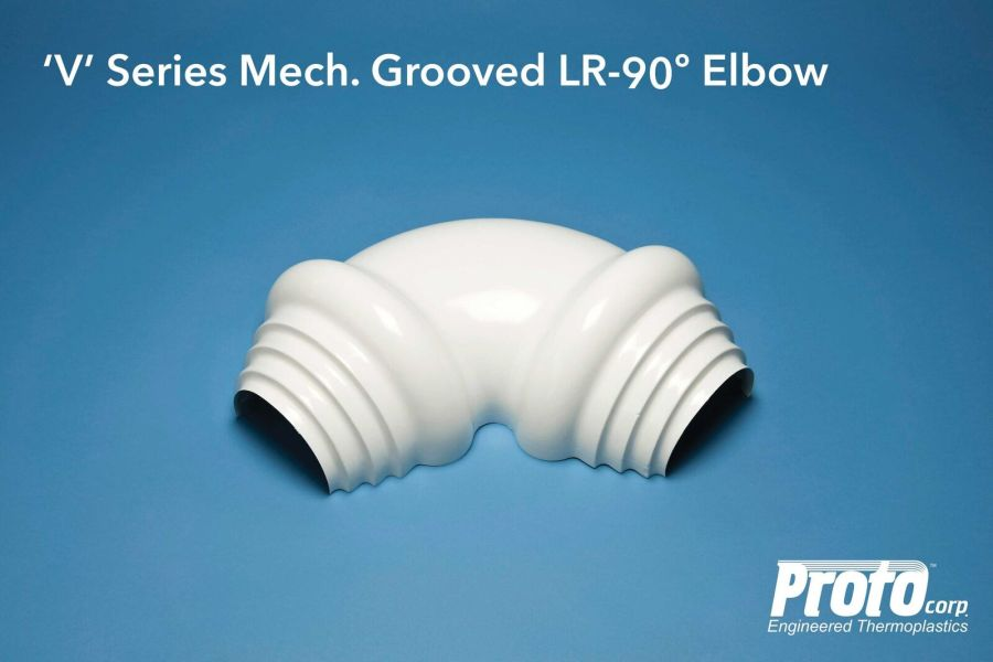 Proto LR-90 Degree Elbow V Series Mechanical Grooved