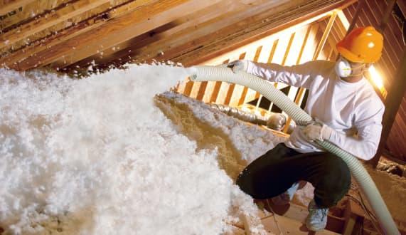 blown in insulation