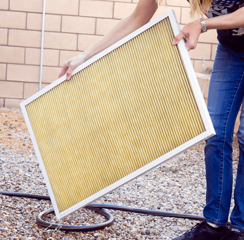 washable air condition filter