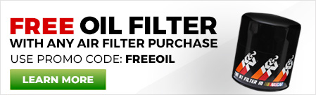 Free Oil Filter with Air Filter Purchase