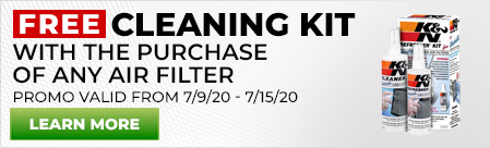 Free Cleaning Kit with Air Filter Purchase