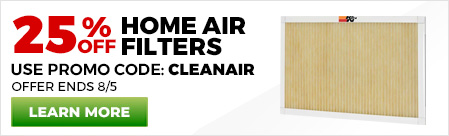 25% Off Home Air Filter