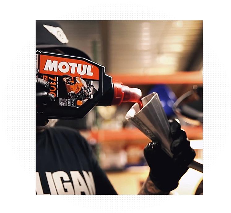 K&N Motul Oil Kit