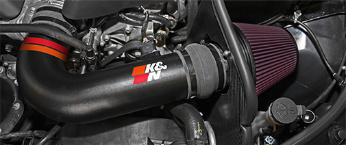 Win a Limited Edition K&N Cold Air Intake or a $500 K&N Gift Card.