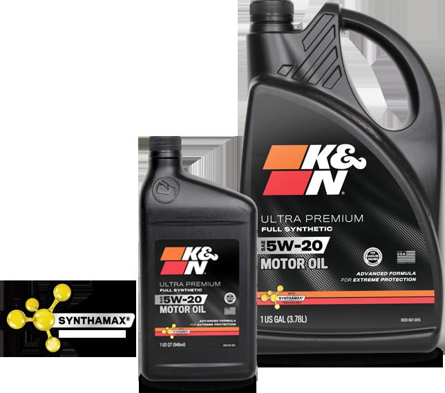 K%N Motor Oil`