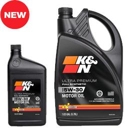 K&N premium motor oil