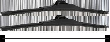 Wiper Blades size