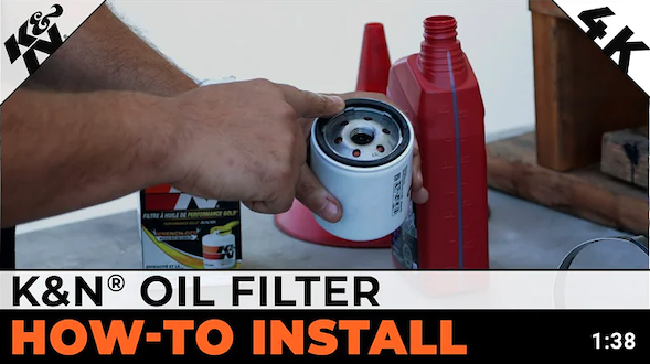 how to install oil filter