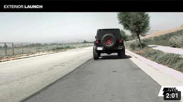 K&N Muffler Delete Sound for Jeep Wrangler