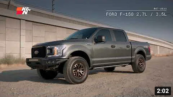K&N Performance Exhaust Sound for F-150 Ecoboost