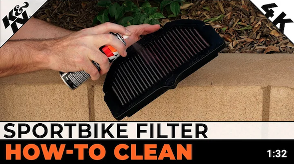 How to Clean Your Sportbike K&N® Filter | K&N® Official Instructions