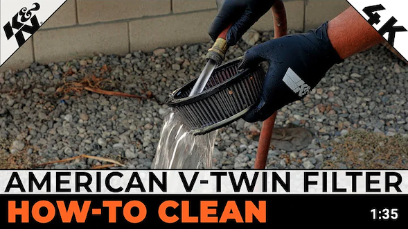 How to Clean and Re-oil Your American V-Twin K&N® High Flow Air Filter™ | K&N® Official Instructions
