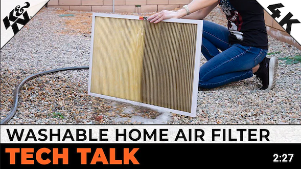 washable home air filter
