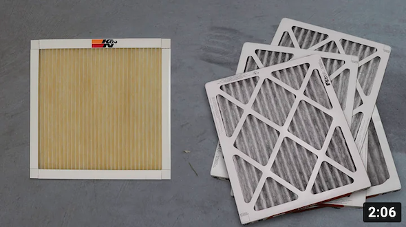 K&N Lifetime Home Air Filter Overview
