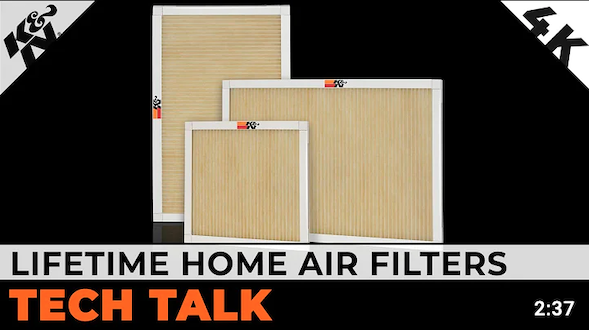 Steve Williams Discusses K&N Lifetime Washable Home Air Filters