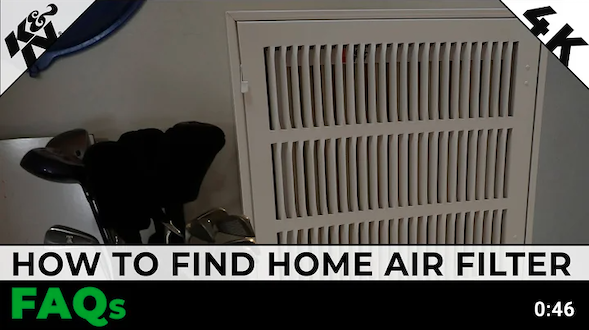 How to Locate Your Home Air Filter | K&N® Official Instructions
