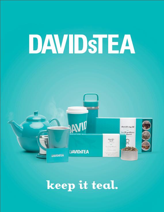 DAVIDsTEA Media Kit