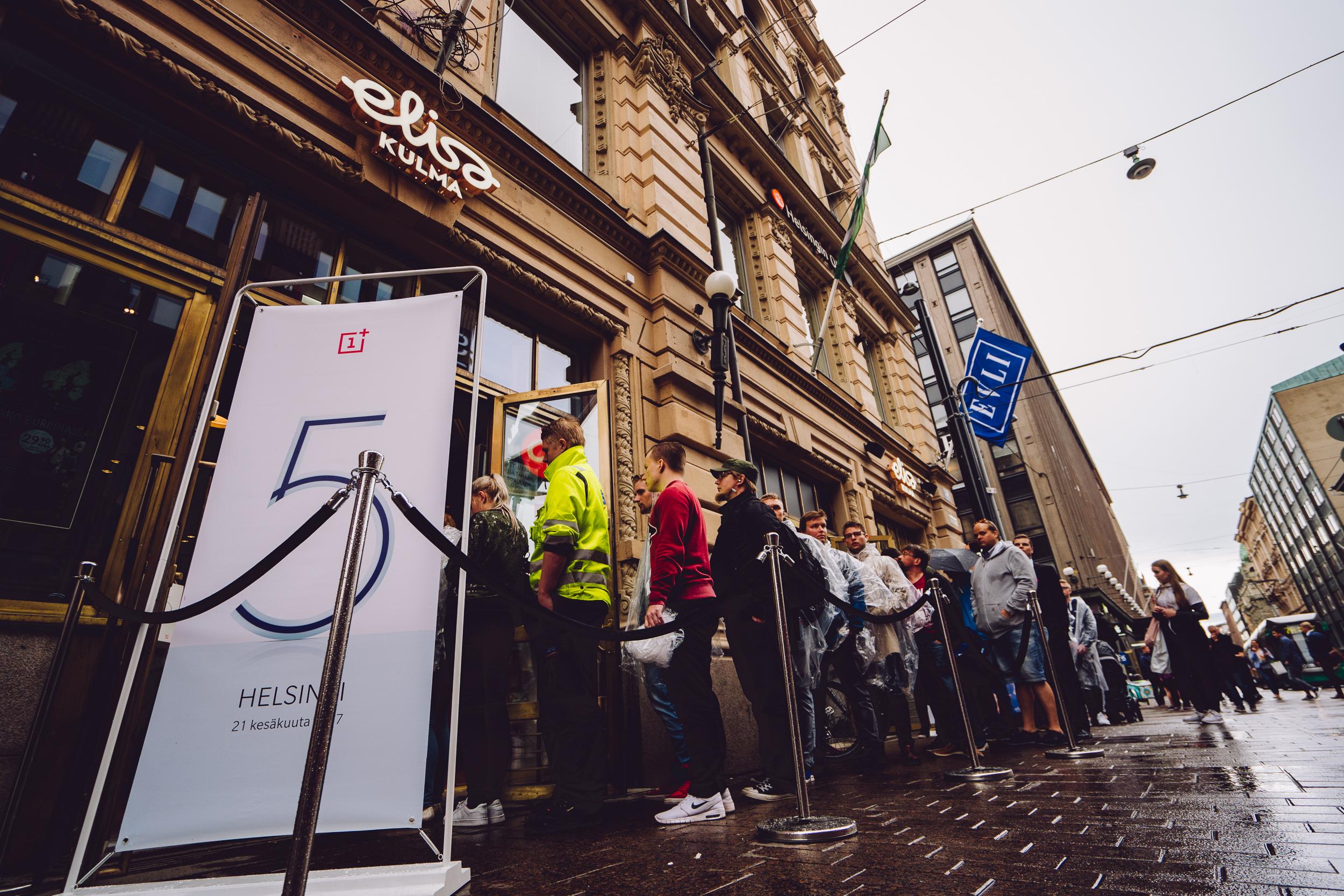 004 OnePlus 5 launch Helsinki Finland 21.6.2017