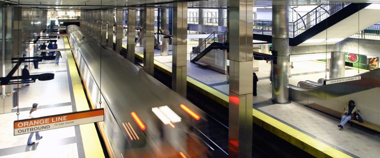 Luggage storage locations near North End Station