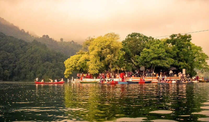 Tal barahi temple- Phewa Lake