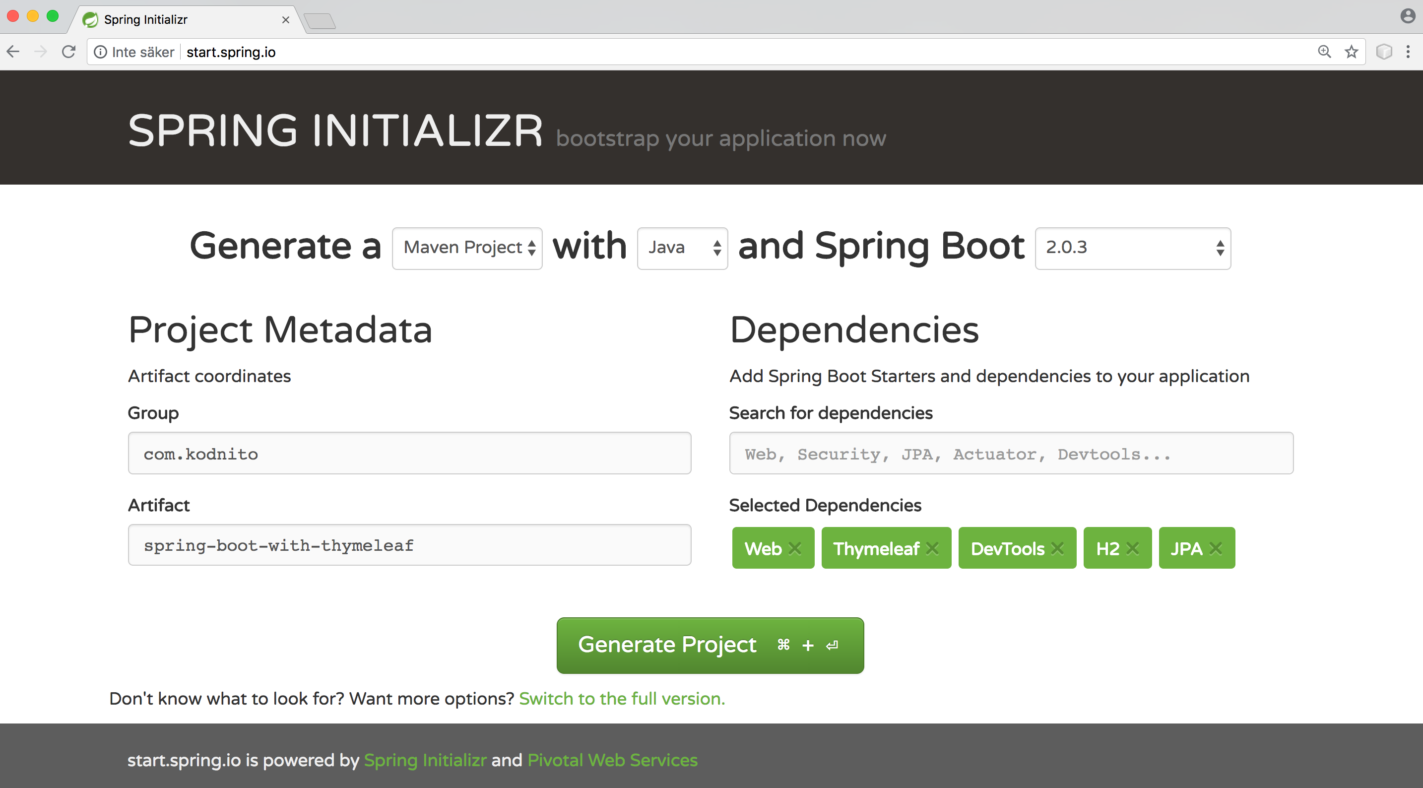 Spring Boot Thymeleaf Introduction