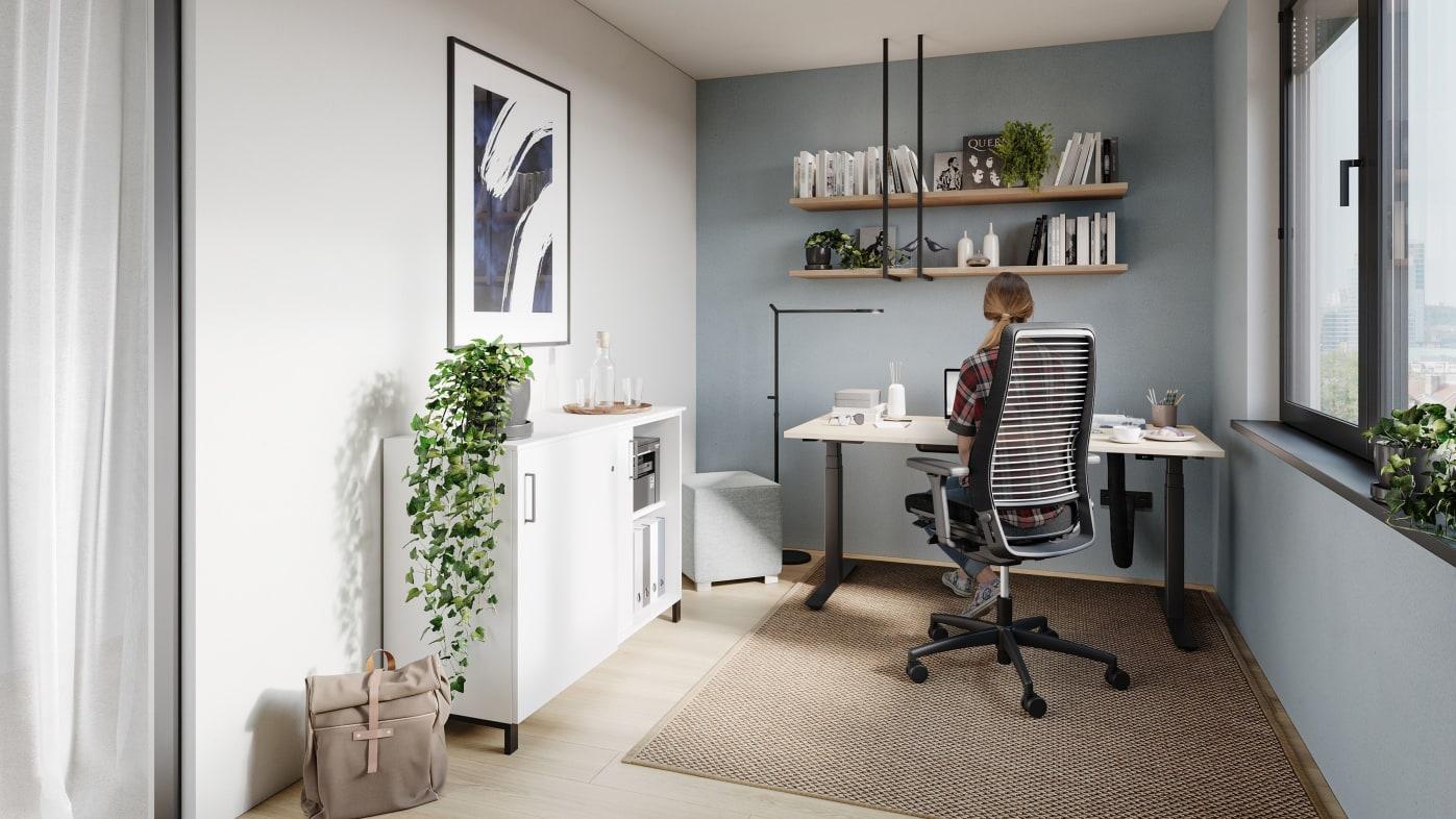 Découvrez dès maintenant les solutions de bureau à domicile de König + Neurath.