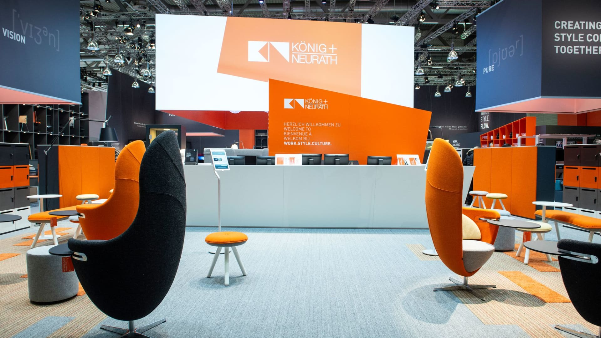 König + Neurath at ORGATEC 2018
