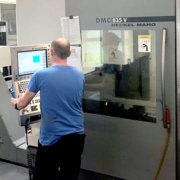 CNC-Fräser/Zerspanungsmechaniker