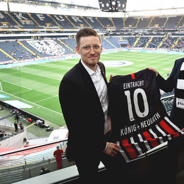Partnership with Eintracht Frankfurt